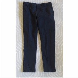 Tommy Hilfiger || Navy Straight Leg Trousers